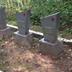 Братское захоронение на Леонихском кладбище