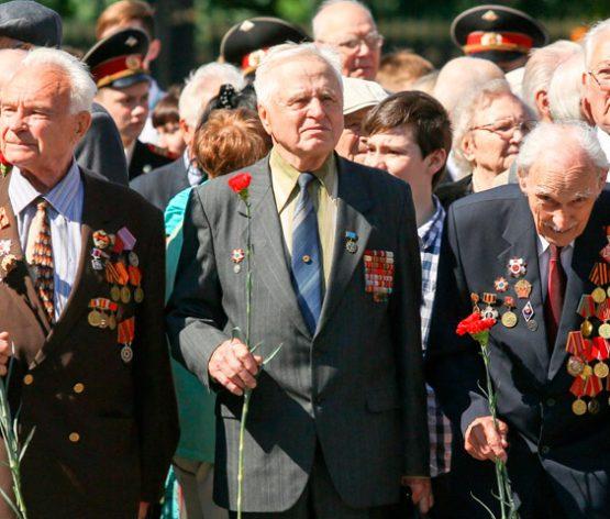 Ветераны Подмосковья к 9 Мая получат свыше 500 млн рублей