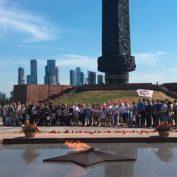 Павловский Посад принял участие в гражданско-патриотической акции «Огонь памяти и славы»