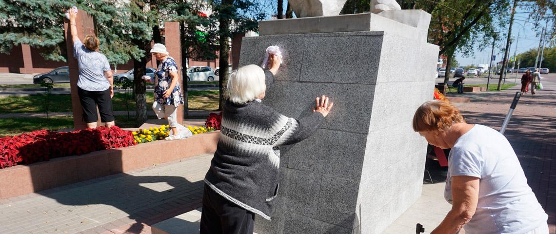 В г.о. Троицк прошла мемориально-патронатная акция