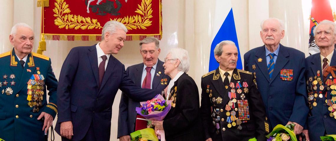 Правительство Москвы окажет материальную помощь ветеранам