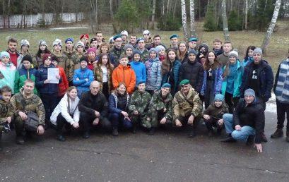 Военно-спортивный сбор «Партизанский рейд-2019»